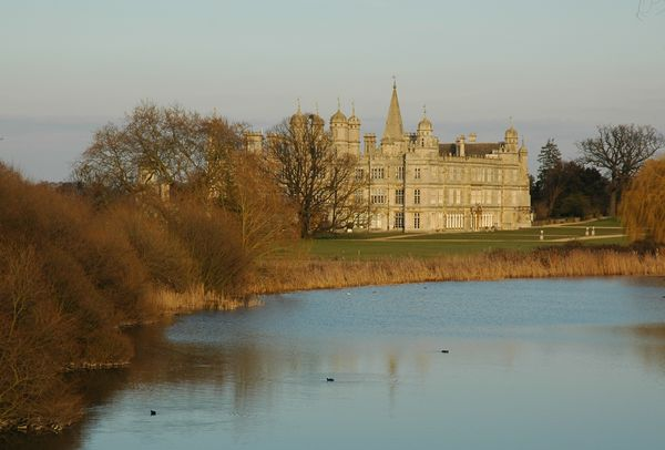 Burghley House from the bridge (I don't live here...unfortunately)