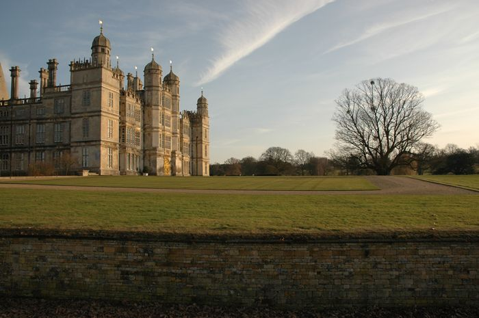 Burghley's West face