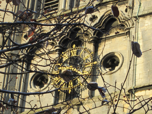 St Mary's actual clock...
