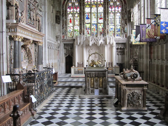 Chapel of our Lady AKA The Beauchamp Chapel